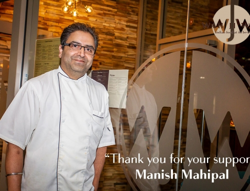 """Thank you for your support"" – Manish Mahipal"