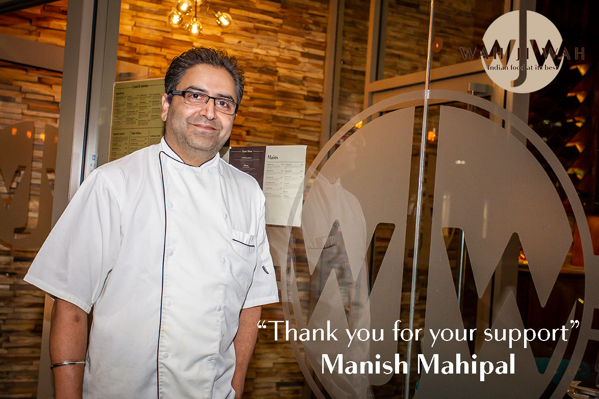 """Thank you for your support"" - Manish Mahipal"