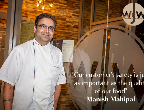 Our customer's safety is just as important as the quality of our food